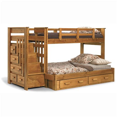 Bunk Bed With Step Drawers by Bedroom Magnificent Bunk Bed With Stairs