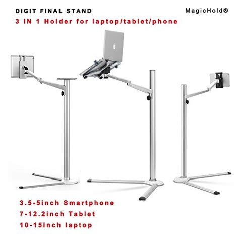 magichold     rotating height adjustable laptop