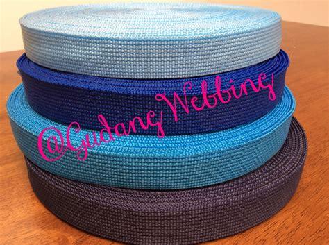 Tali Webbing Warna Kuning 3 8 Cm jual tali webbing warna 2 5 cm gudang webbing