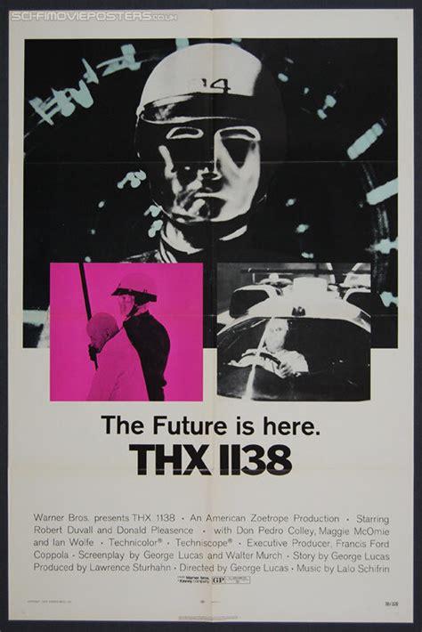 fantasy film sheets uk thx 1138 1971 original us one sheet movie poster