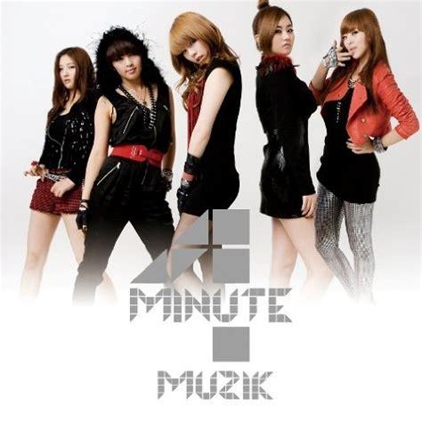 4minute For Muzik 4minute muzik japanese version t ara co ed ifc