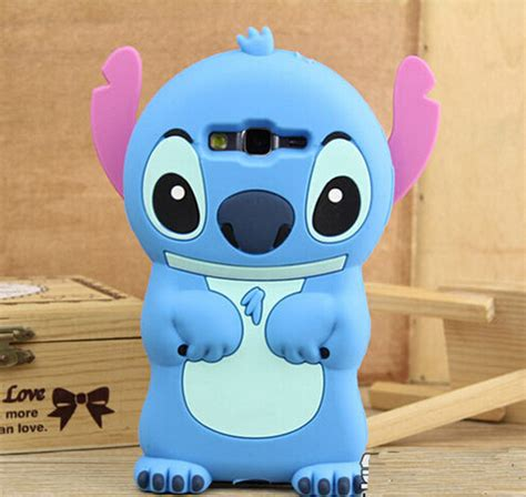 Samsung Galaxy J1 Ace 3d Stitch 4 Soft Silicon stitch cases for samsung galaxy j1