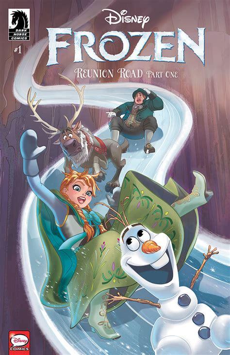 disney frozen reunion road  profile dark horse comics
