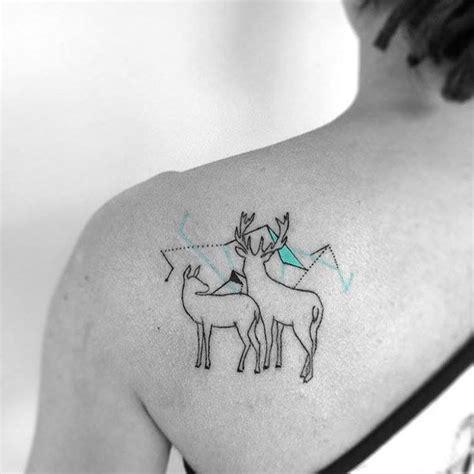 minimalist tattoo deer 31 amazing deer tattoos with antler best designs with