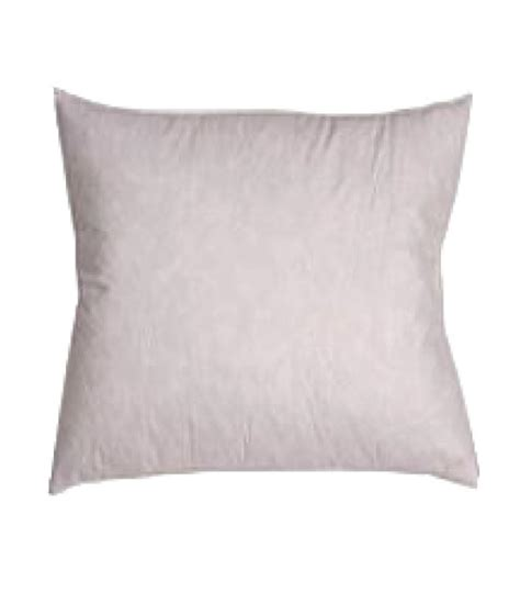 235tc cotton covered square pillow insert filled with