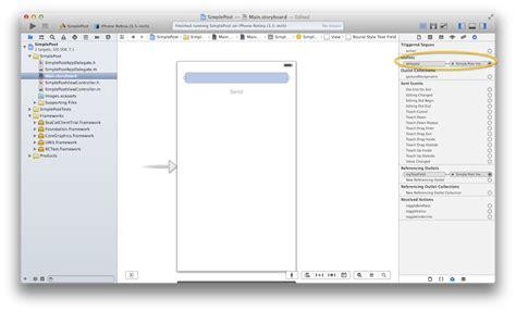 xcode delegate tutorial seacat tutorial chapter 2 simple post ios 183 teskalabs