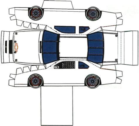 Nascar Papercraft - nascar papercraft templates car pictures car