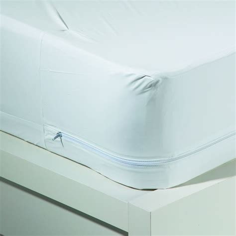 Mattress Bug Protector by Bed Bug Allergy Relief Waterproof Zippered Vinyl Mattress