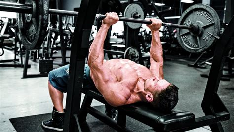 big bench press workout straight up triceps for bigger arms muscle fitness