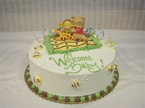 Winnie The Pooh Baby Shower Cakes At Walmart by Photo Winnie The Pooh Cakes For Image