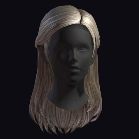 hairstyles tool kits hair style 4 3d model ready max obj c4d cgtrader