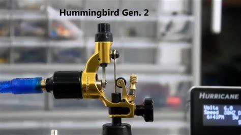 rotary tattoo machine youtube hummingbird gen 2 rotary tattoo machine youtube