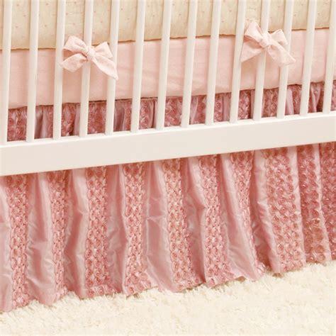 Baby Crib Bed Skirt by Dozen Roses Crib Skirt Traditional Baby Bedding