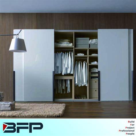 china wooden bedroom wardrobe closet cabinets  sliding
