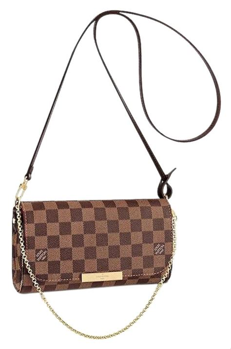 louis vuitton favorite pochette pm monogram  strap