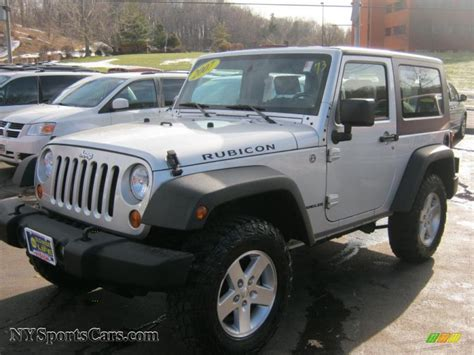 2007 Jeep Rubicon For Sale 2007 Jeep Wrangler Rubicon 4x4 In Bright Silver Metallic