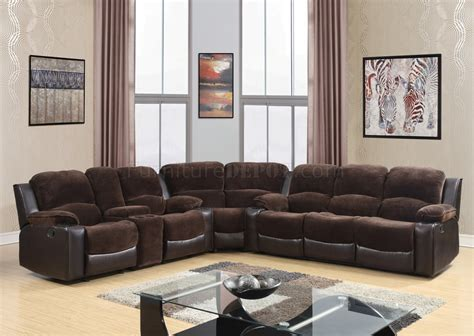 chocolate brown sectional 1301 motion sectional sofa in chocolate brown by global