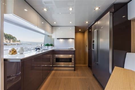 yacht kitchen ernestomeda yacht division cucine a parete ernestomeda