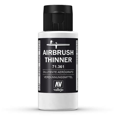 airbrush verd 252 nner thinner 60 ml 183 acrylicos vallejo