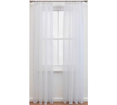 voile curtains argos buy colourmatch pair of voile panels 152x228cm super