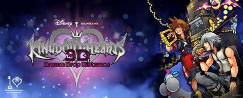 Kaset Kingdom Hearts 3d Drop Distance 3ds kingdom hearts 3d drop distance review a portable blast