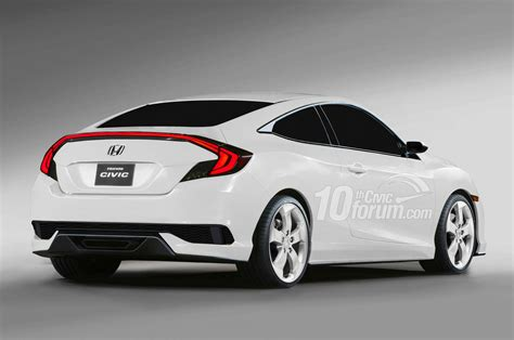 hatchback coupe 2016 honda civic hatchback coupe sedan renderings