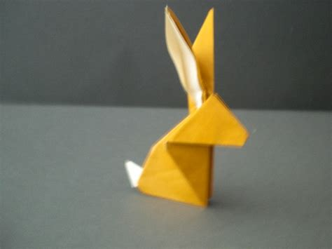 Origami Rabit - how to fold an origami rabbit 171 origami