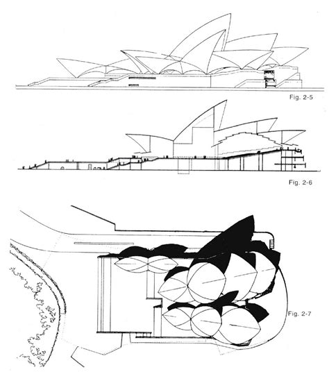 sydney opera house plans des plans de l op 233 ra de sydney opera house architecture and architectural drawings