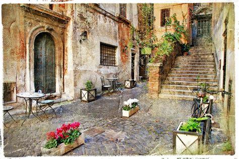 stassen fiori старые улицы италии италия рим стоковое фото 169 maugli