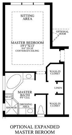 master bedroom plans with bath 1000 images about house design bath on pinterest 19153   9e266474e30dba4f4351ace50ca3c95a