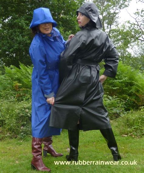 raincoat discipline girls and macks black rubber mackintoshes sbr