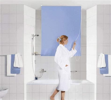 Detox From Spriella by Kleine Wolke Shower Roller Blind Clevershower