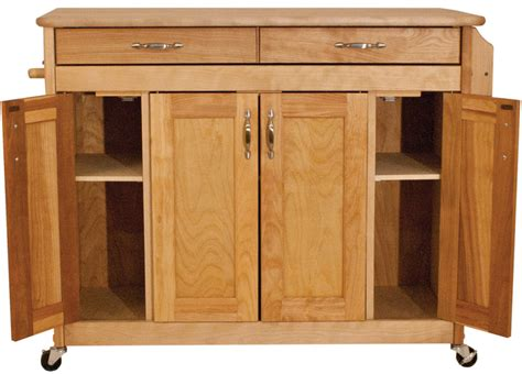 catskill craftsman butcher block island with panel doors catskill craftsmen butcher block island with flat panel doors