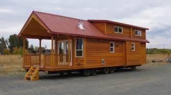 tiny house models 396 square feet double loft park model cabin