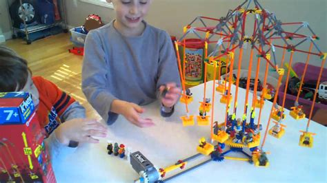 k nex super swing k nex super swing product review youtube