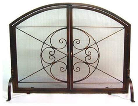 Fireplace Screens Atlanta by Crest Icon 2 Door Firescreen Modern Fireplace