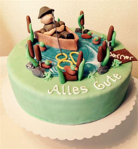 Hochzeitstorte Angler by Angler Torte Cakes Glasur Motivtorten Und