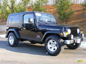 2006 Jeep Rubicon Black 2006 Jeep Wrangler Unlimited Rubicon 4x4 Exterior
