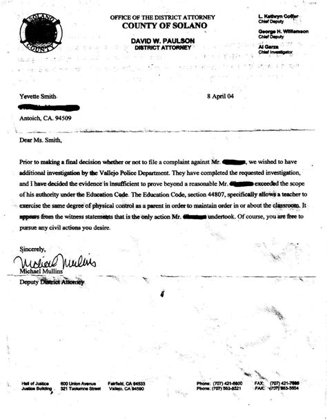 Unfit Parent Letter Repeal 44807 Committee