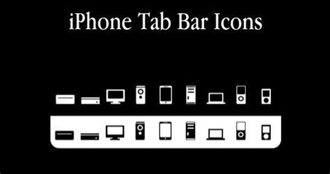 11 useful and free iphone toolbar icon sets smashingapps