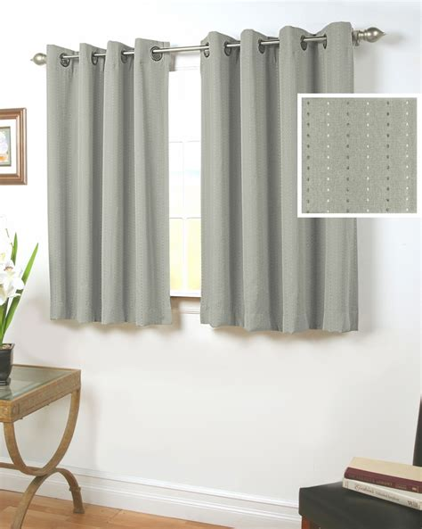 Kitchen Curtains 30 Inch Length 36 Inch Length Grommet Curtains Curtain Ideas