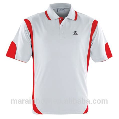 Sport T Shirt 1 new design elite sports polo shirt with combination color