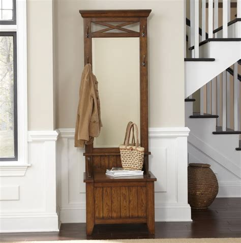 hall tree with bench and mirror hall tree with mirror and umbrella stand home design ideas