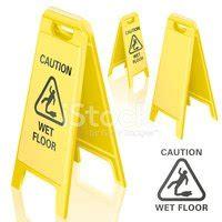 cartello pavimento bagnato cartello pavimento bagnato stock immagini vettoriali