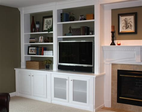 Built In Bookcases Traditional Family Room Other Houzz Built In Bookshelves
