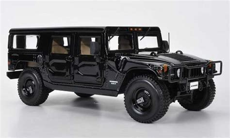 hummer model car hummer h1 station wagon black maisto diecast model car 1