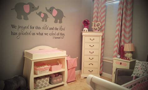 gianna s pink and gray elephant nursery reveal project