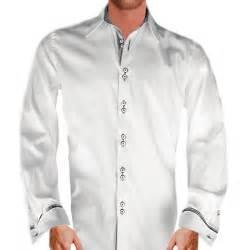 Dress Shirts White And Gray Dress Shirts