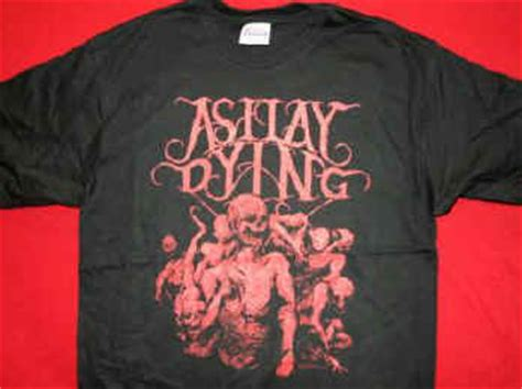As I Lay Dying 16 T Shirt Size M concert t shirts as i lay dying t shirt dead logo black size large new