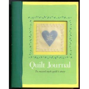 a quilter s journal books gift idea quilters journal